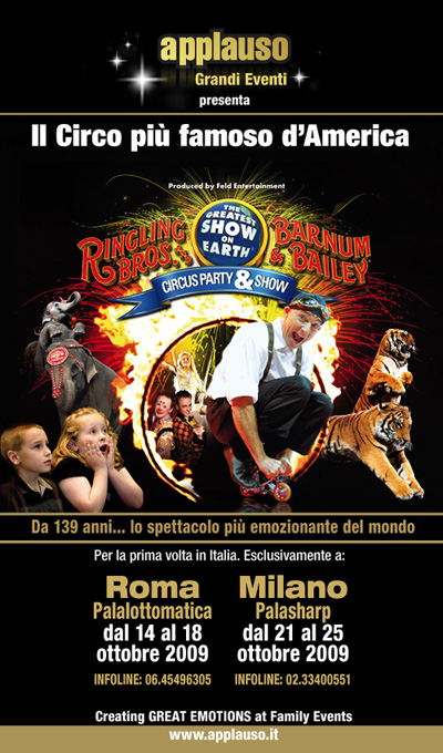 CAMBIO DI GABBIA AL RINGLING BROS. AND BARNUM & BAILEY