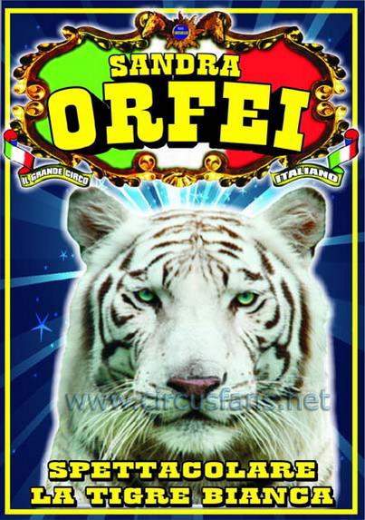 Risultati immagini per circo sandra orfei